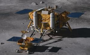 Chang'e 3 lander and Yutu rover